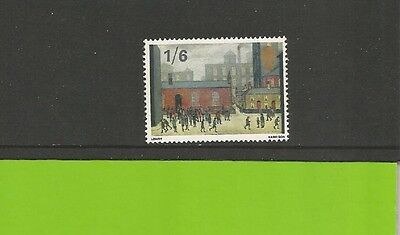 Gb 1967 Paintings 1/6 Error Missing Phosphor Mnh