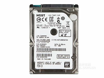 "HD per Notebook 2,5"" HGST 1TB SATA 32MB 7200rpm SATA3 HARD DISK 1000 GB 0J22423"
