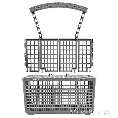 Cutlery Basket for KENWOOD Dishwasher Plastic Cage Tray Lid Removable Handle