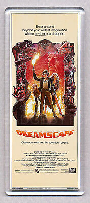 DREAMSCAPE LARGE movie poster 'wide' FRIDGE MAGNET  - 80's  CLASSIC !