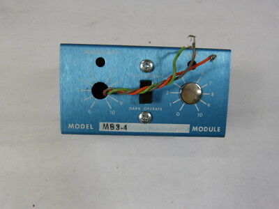 Banner MB3-4 Photoelectric Logic Module Modulated Amplifier ! NEW !