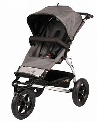 Mountain Buggy Urban Jungle Single Stroller in Flint Brand New!!