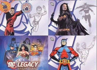 Rittenhouse ... DC Legacy Complete #1-50 Card Set + Wrapper