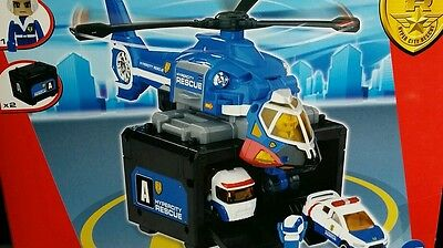 Tomica Hypercity Rescue Police Service Helicopter!!..Low Start Price!!