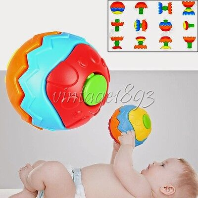 Assembling Toy Kids Grasping Fitness Ball Puzzle Infant Baby Developmental Gift