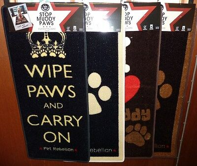 Stop Muddy Paws - Absorbant Mats For Pets Paws