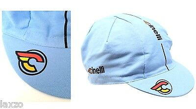Cinelli Supercorsa Lazer Blue Bike Cycling Cap - Fixed Gear - Made in Italy