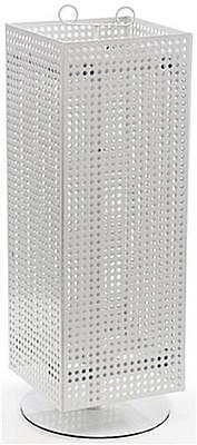 For Sale Magnet and Peg Hook Counter Spinner Display Rack (White)