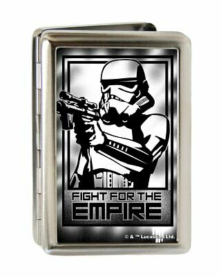 Star Wars StormTrooper Fight the For Empire Metal Business & Credit Card Holder