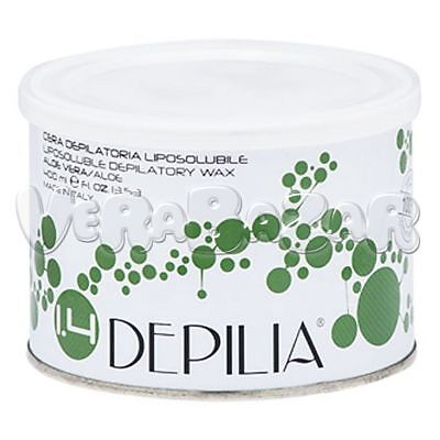 Ceretta Depilatoria Aloe Vera 400Ml Liposolubile Depilia Cera Depilazione