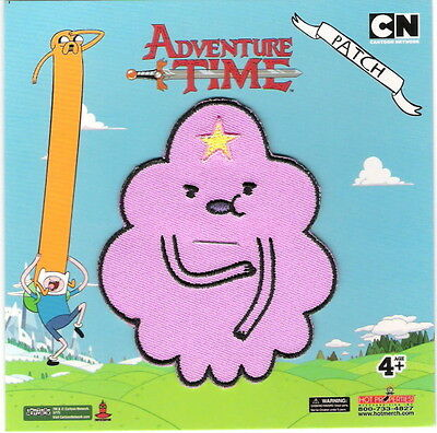 Adventure Time TV Series Lumpy Space Princess Embroidered Patch, NEW UNUSED
