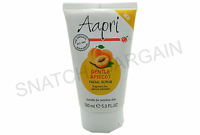 1 x AAPRI EXFOLIATING FACIAL SCRUB CREAM 150ml NEW PACK