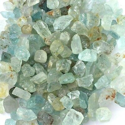 100 Carat Wholesale Lot Of Natural Earth Mined Aquamarine Gemstone Rough