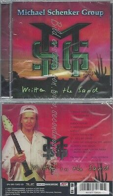 Cd--Michael Schenker Group--Written In The Sand