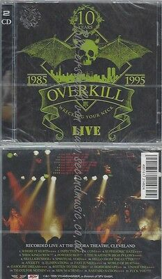 Cd--Over Kill--Wrecking Your Neck| Doppel-Cd //10 Jahre 1985-1995 Live