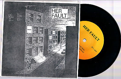 "Her Fault Dope School Ride + Motels And Higways 1991 Buckshot Rec. 7"" 33 Giri"