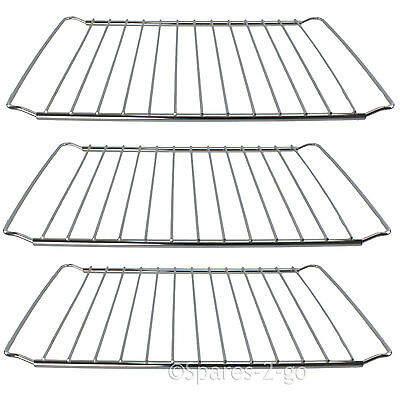 3 x Extendable Oven Grill Chrome Shelf Rack Fits DELONGHI Cooker 345 - 565mm