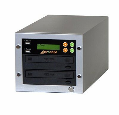 ($0 P&H) evocept CopyBlast Ultimate BD/DVD/CD Duplicator 1 Drive Tower& USB Copy