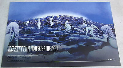 "Led Zeppelin - Houses Of The Holy * 2 Sided Promo Poster * 11"" x 17"" rare limit"