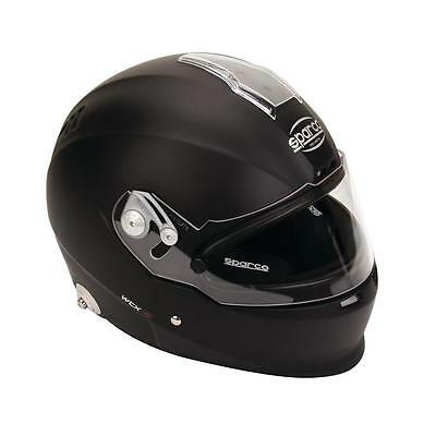 Sparco 0033043L Racing WTX5 Helmet, White, Size Small