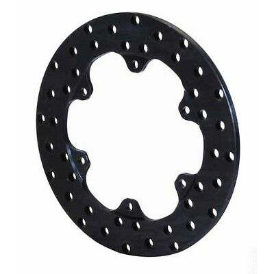 Wilwood 160-3306 Drilled Steel Front Drag Rotor, 10.75 x.350/6 on 6.25