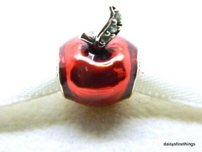 c280f2b0e Nwt Authentic Pandora Silver Charm Disney Snow Whites Apple W/czs  #791572En73