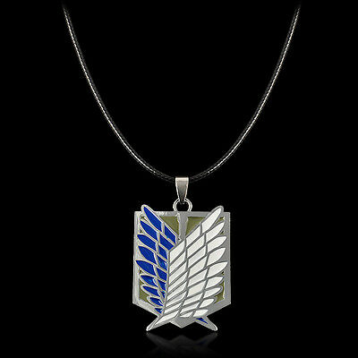 ClassicalAnime Attack on Titan Shingeki no Kyojin Recon Necklace Cosplay Collect