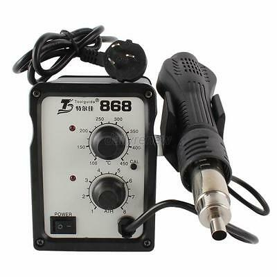 Hot Air Solder Blower Toolguide 868 SMD Rework Station Heat Gun 220V+ Nozzle D21