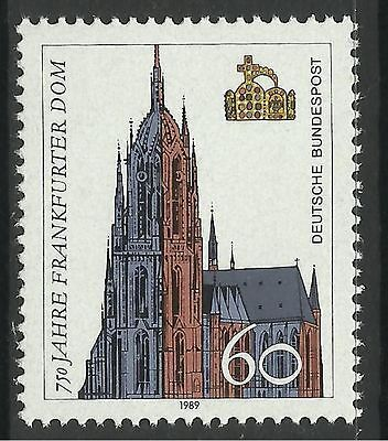 WEST GERMANY. 1989. 750th Anniv of Frankfurt Cathedral Commemorative. SG: 2286.