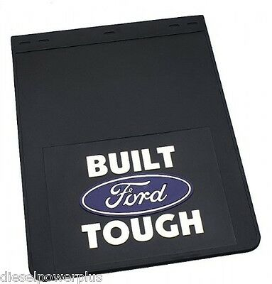 ford powerstroke dually dump truck pickup diesel 18x24 mud guards flaps mudflaps
