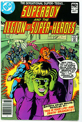 ♥♥♥♥ SUPERBOY AND THE LEGION OF SUPER-HEROES • Issue 256 • DC Comics