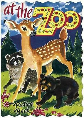 At the Zoo by George Trimmer (English) Hardcover Book Free Shipping!