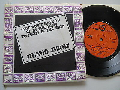Mungo Jerry - You don´t have to be ..Original UK-Dawn-EP  Vinyl /Cover:very good