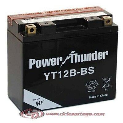 Bateria POWER THUNDER YT12B-BS