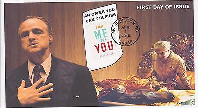 Jvc Cachets-2015 'from Me To You' Issue First Day Covers Fdc Topical Godfather