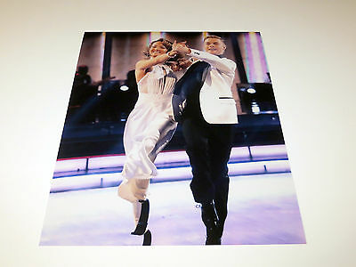 AMY PURDY DEREK HOUGH UNSIGNED DANCING WITH THE STARS 8X10 PHOTO
