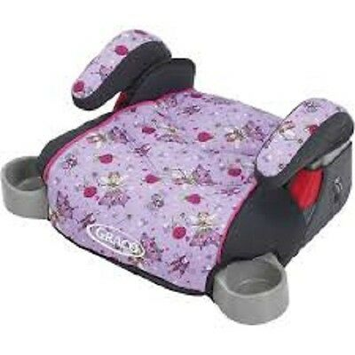Graco Backless Turbo Booster Car Seat - Pixie - New! Free Shipping!