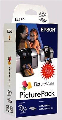 Epson Picture Pack containing T5570 Photo Cartridge + Photo Paper for