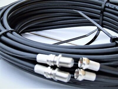 5m Twin Satellite Cable Extension Kit For Sky+ HD