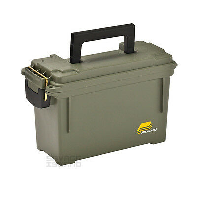 Plano Field Box Lockable Ammo Can Rounds Bullet Hunting Cartridge Shooting Case