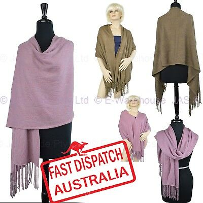 Ladies Winter Wedding Formal Fashion Pashmina Stole Shawl Wrap Long Scarf