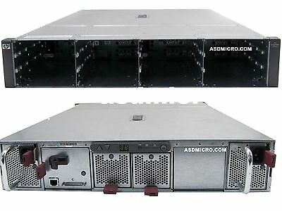 HP StorageWorks MSA20 335921-B21 Storage Array 2 x PSU 1 x Controller 417592-001