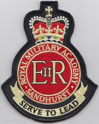 British Army - Royal Military Academy Sandhurst - Embroidered Patch Badge