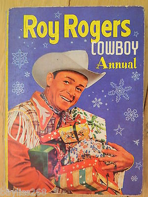 Roy Rodgers Cowboy Annual 1954
