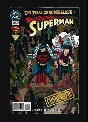 The Trial Of Superman Us Dc Comic Vol.1 # 106/'95