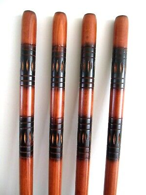 Quality Carved Shaft for Walking Stick Making Beech Wood Parts Accessories Canes