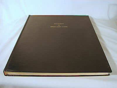 Old 1872 Morgan County, Illinois IL County Atlas, Settlers Genealogy Rebound Cnd