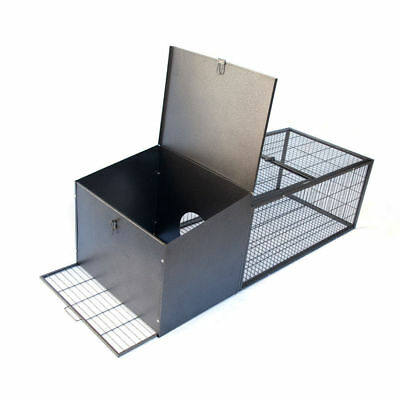 Metal Rabbit Guinea Pig House Cage Hutch Run Pen Medium