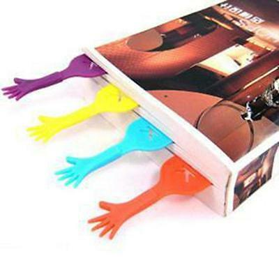 Novelty Hand Paim Bookmark Ducument Book Marker Label Stationery Divider Sticks