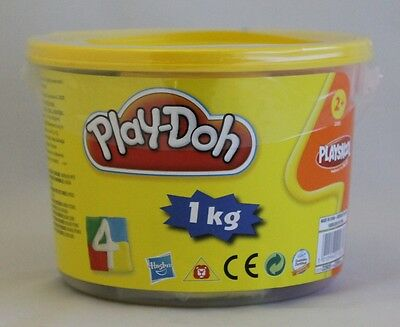 New Hasbro Play-Doh 4 Colour 1Kg Tub Blue/red/green/yellow Playdoh Classic
